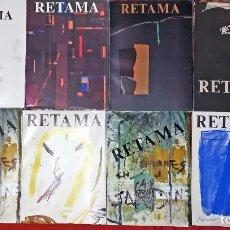 Libros de segunda mano: LOTE DE 8 TTOMOS DE - CUENCA- RETAMA - NUMEROS 1, 2, 4, 5, 6, 8, Y 9 - REVISTA EU DE MAGISTERIO- A. Lote 157636418
