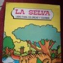 Libros de segunda mano: LA SELVA LIBRO GRAN FORMATO PARA COLOREAR Y ESCRIBIR FHER 1983 NUEVO. Lote 157666330