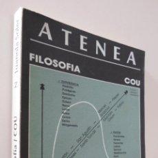 Libros de segunda mano: ATENEA, COU: FILOSOFÍA - JUANOLA SOLER, NARCISO. Lote 157673241