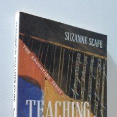 Libros de segunda mano: TEACHING BLACK LITERATURE - SCAFE. Lote 157674546