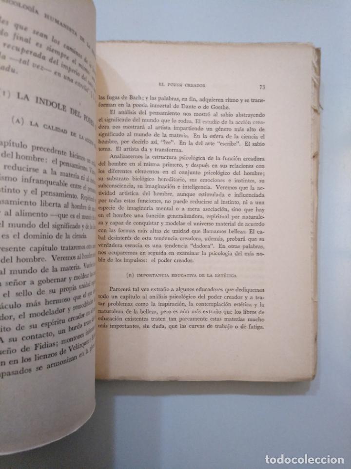 Libros de segunda mano: UNA PSICOLOGIA HUMANISTA DE LA EDUCACION. JAIME CASTIELLO S.J. EDITORIAL JUS MEXICO 1947. TDK378 - Foto 2 - 158421830