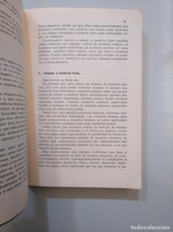 Libros de segunda mano: LA EDAD DIFÍCIL. CÓMO EDUCAR A NUESTROS HIJOS.LUISA GUARNERO. EDITORIAL MARFIL. ALCOY 1953. TDK378 - Foto 2 - 158423490
