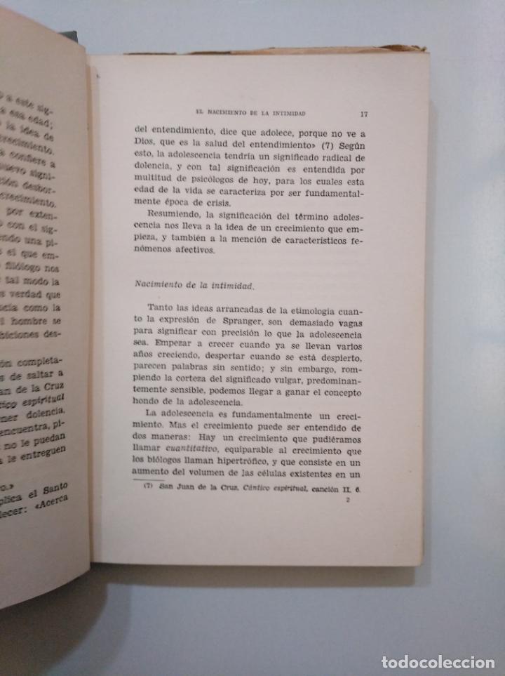Libros de segunda mano: EL NACIMIENTO DE LA INTIMIDAD Y OTROS ESTUDIOS. VICTOR GARCIA HOZ. MADRID 1950. TDK378 - Foto 2 - 158423774