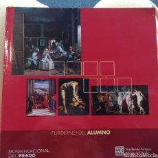 Libros de segunda mano: MUSEO NACIONAL DEL PRADO CUADERNO DEL ALUMNO GABINETE DIDÁCTICO. Lote 158510828
