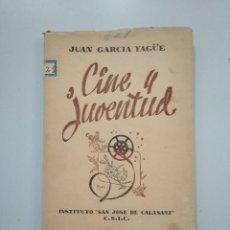 Gebrauchte Bücher - CINE Y JUVENTUD. - JUAN GARCÍA YAGÜE. INSTITUTO SAN JOSE DE CALASANZ. C.S.I.C. TDK379 - 158666798