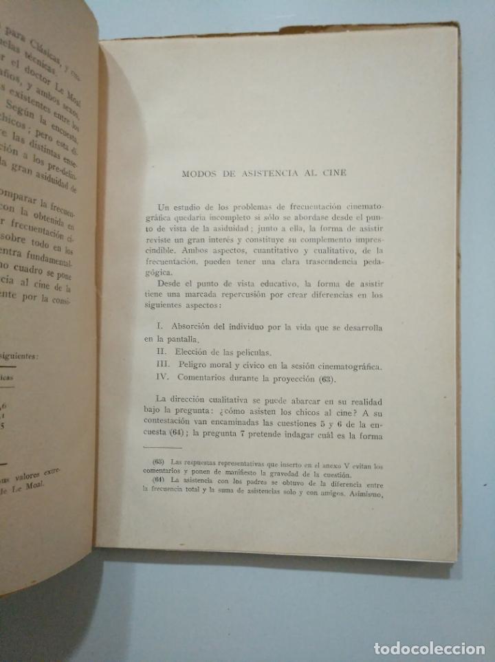 Libros de segunda mano: CINE Y JUVENTUD. - JUAN GARCÍA YAGÜE. INSTITUTO SAN JOSE DE CALASANZ. C.S.I.C. TDK379 - Foto 2 - 158666798