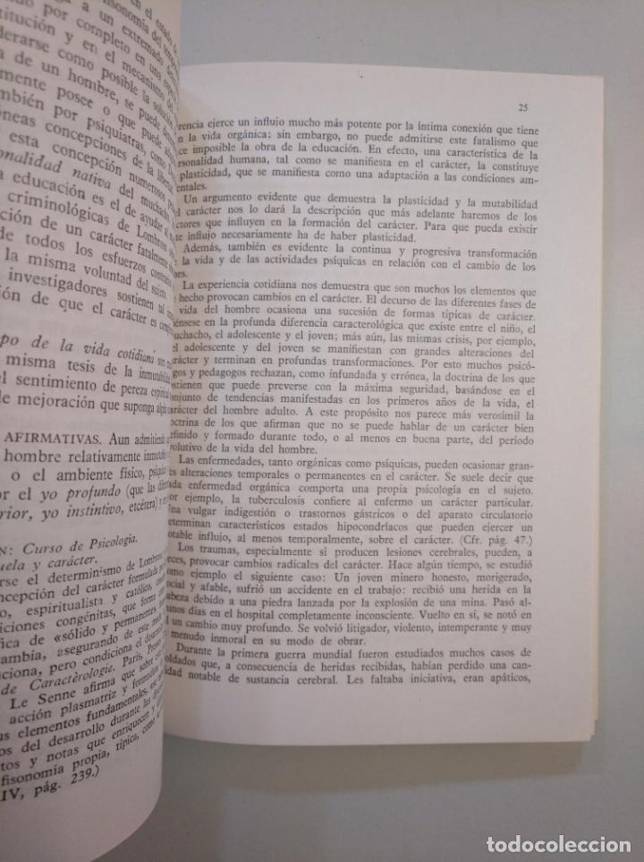 Libros de segunda mano: CARACTEROLOGIA Y TIPOLOGIA APLICADAS A LA EDUCACION. - LORENZINI, G. TDK380 - Foto 2 - 158731390