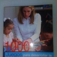 Libros de segunda mano: 1000 JUEGOS PARA DESARROLLAR LA INTELIGENCIA DE TU HIJO -- PEDRO ABASTOS DECKNAME. Lote 158760810