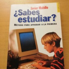 Libros de segunda mano: ¿SABES ESTUDIAR? MÉTODO PARA APROBAR A LA PRIMERA (JAVIER MAHILLO) ESPASA PRÁCTICO. Lote 159580154