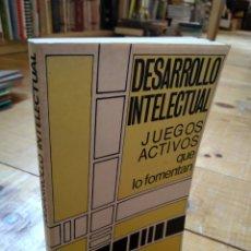 Libros de segunda mano: DESARROLLO INTELECTUAL. JUEGOS ACTIVOS QUE LO FOMENTAN. BRYANT J. CRATTY. Lote 159665049