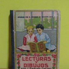 Libros de segunda mano: LECTURAS Y DIBUJOS - JOSÉ M. SANCHEZ CASTRO LIBRERIA FERRANDIS VALENCIA AÑO 1941. Lote 160449094