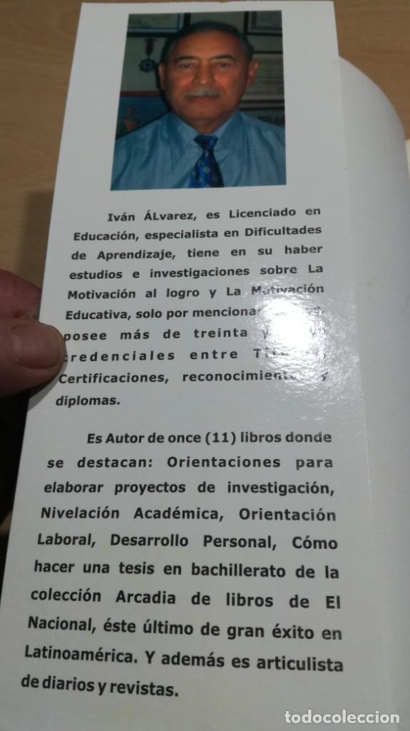 Libros de segunda mano: COMO MOTIVAR A TU HIJO/ HERRAMIENTAS PARA PADRES Y DOCENTES/ IVAN CARMELO ALVAREZ - Foto 4 - 163379434