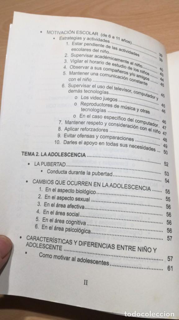 Libros de segunda mano: COMO MOTIVAR A TU HIJO/ HERRAMIENTAS PARA PADRES Y DOCENTES/ IVAN CARMELO ALVAREZ - Foto 9 - 163379434