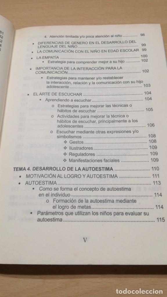 Libros de segunda mano: COMO MOTIVAR A TU HIJO/ HERRAMIENTAS PARA PADRES Y DOCENTES/ IVAN CARMELO ALVAREZ - Foto 12 - 163379434