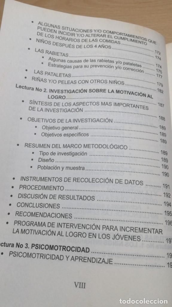 Libros de segunda mano: COMO MOTIVAR A TU HIJO/ HERRAMIENTAS PARA PADRES Y DOCENTES/ IVAN CARMELO ALVAREZ - Foto 15 - 163379434