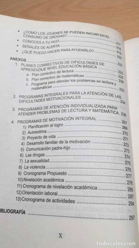 Libros de segunda mano: COMO MOTIVAR A TU HIJO/ HERRAMIENTAS PARA PADRES Y DOCENTES/ IVAN CARMELO ALVAREZ - Foto 17 - 163379434