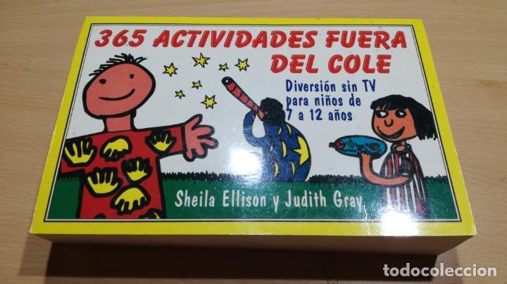 Libros de segunda mano: 365 ACTIVIDADES FUERA DEL COLE / DIVERSION SIN TV PARA NIÑOS DE 7 A 12 AÑOS - Foto 2 - 163380790