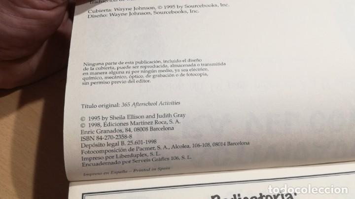 Libros de segunda mano: 365 ACTIVIDADES FUERA DEL COLE / DIVERSION SIN TV PARA NIÑOS DE 7 A 12 AÑOS - Foto 5 - 163380790