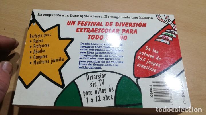 Libros de segunda mano: 365 ACTIVIDADES FUERA DEL COLE / DIVERSION SIN TV PARA NIÑOS DE 7 A 12 AÑOS - Foto 15 - 163380790