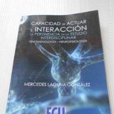 Libros de segunda mano - CAPACIDAD DE ACTUAR E INTERACCION - 165358754