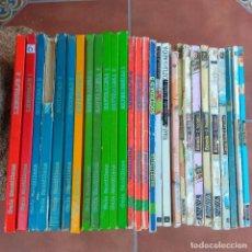 Libros de segunda mano: LOTE 28 LIBROS TEXTO AÑOS 80 EDITORIAL SANTILLANA Y ANAYA. Lote 165881262