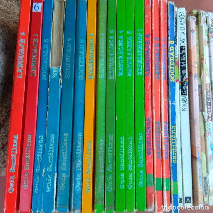 Libros de segunda mano: Lote 28 libros texto años 80 editorial Santillana y Anaya - Foto 2 - 165881262