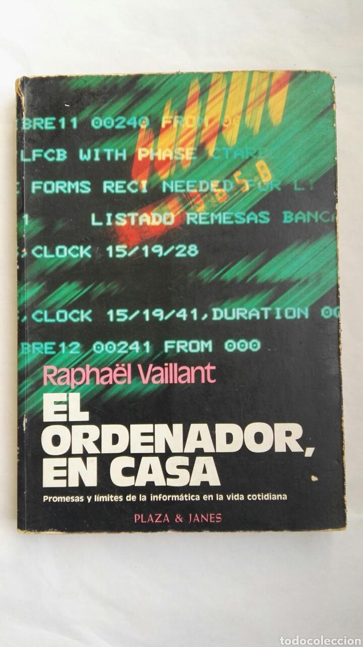 EL ORDENADOR EN CASA (Libros de Segunda Mano - Ciencias, Manuales y Oficios - Pedagogía)