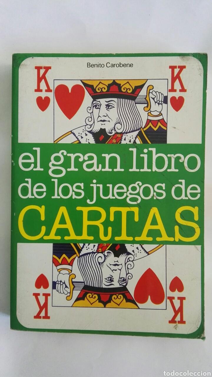 EL GRAN LIBRO DE LOS JUEGOS DE CARTAS (Libros de Segunda Mano - Ciencias, Manuales y Oficios - Pedagogía)