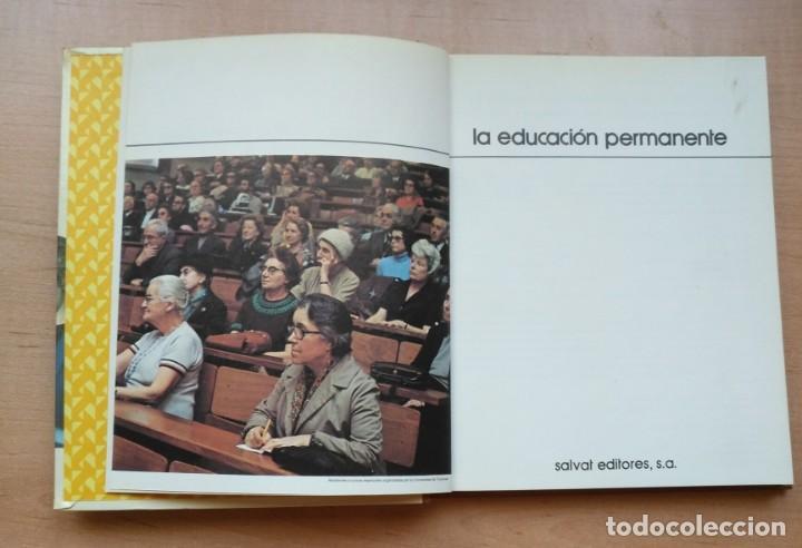 Libros de segunda mano: LLA 27 La Educación Permanente - Biblioteca Salvat de grandes temas - Nº 72 - Foto 2 - 168484224