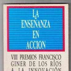 Libros de segunda mano: LA ENSEÑANZA EN ACCIÓN FUNDACIÓN BANCO EXTERIOR 1992. Lote 168677536