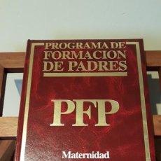 Libros de segunda mano: PROGRAMA DE FORMACIÓN DE PADRES Nº1, POR CARLOS GISPERT DE ED. OCÉANO / EXITO EN BARCELONA 1986. Lote 169004712