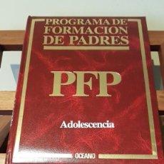 Libros de segunda mano: PROGRAMA DE FORMACIÓN DE PADRES Nº 7, POR CARLOS GISPERT DE ED. OCÉANO / EXITO EN BARCELONA 1986. Lote 169005920