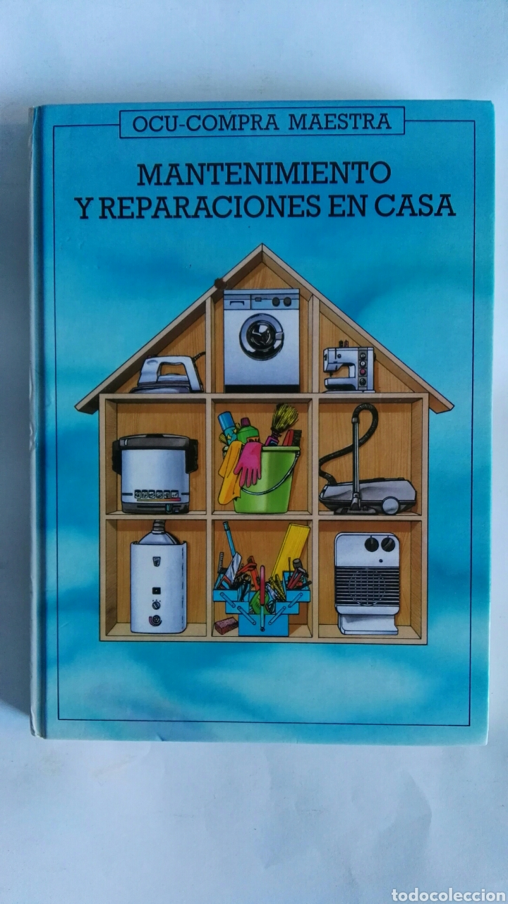 MANTENIMIENTO Y REPARACIONES EN CASA (Libros de Segunda Mano - Ciencias, Manuales y Oficios - Pedagogía)