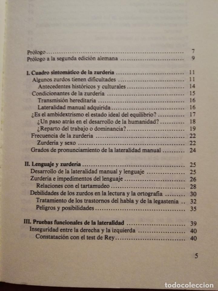 Libros de segunda mano: LOS NIÑOS ZURDOS (ALFRED ZUCKRIGL) BIBLIOTECA DE PEDAGOGÍA Nº 23 - HERDER - - Foto 2 - 169423392
