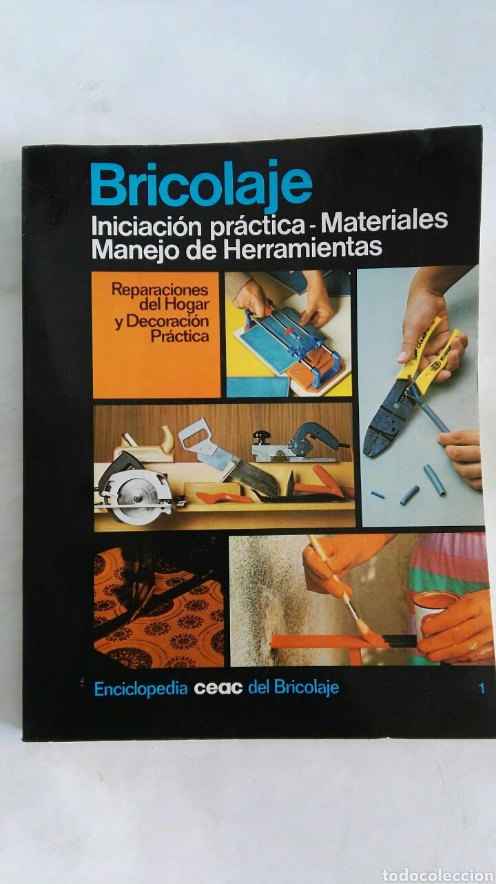 BRICOLAJE INICIACIÓN PRÁCTICA (Libros de Segunda Mano - Ciencias, Manuales y Oficios - Pedagogía)