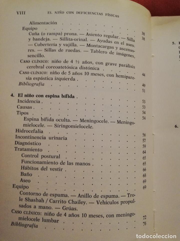 Libros de segunda mano: EL NIÑO CON DEFICIENCIAS FÍSICAS (LINDA ROUTLEDGE) - Foto 4 - 171978535