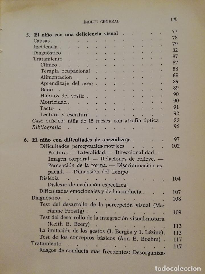 Libros de segunda mano: EL NIÑO CON DEFICIENCIAS FÍSICAS (LINDA ROUTLEDGE) - Foto 5 - 171978535