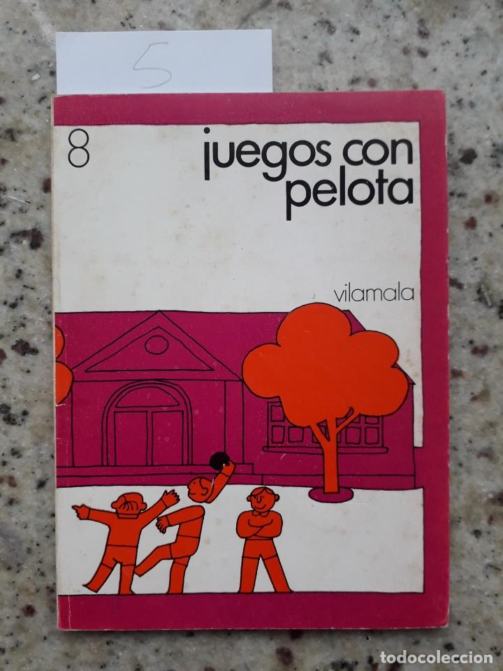 JUEGOS CON PELOTA. FERMIN CEBOLLA LOPEZ. ED. VILAMALA 1981 (Libros de Segunda Mano - Ciencias, Manuales y Oficios - Pedagogía)