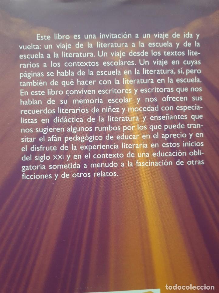 Libros de segunda mano: TEXTOS LITERARIOS Y CONTEXTOS ESCOLARES. LA ESCUELA EN LA LITERATURA. BIBLIOTECA DE TEXTOS GRAO,2008 - Foto 7 - 172016050
