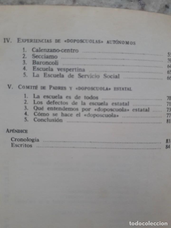 Libros de segunda mano: CONTRAESCUELA. ALUNMOS DE BARBIANA. EDITORIAL ZERO. BILBAO, 1976 - Foto 5 - 172017137