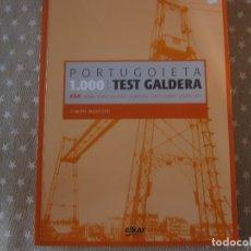 Libros de segunda mano: 1000 TEST EGA ROBERTO ALKARTERRI ELKAR. Lote 172420475