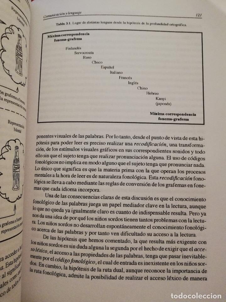 Libros de segunda mano: DEFICIENCIA AUDITIVA. ASPECTOS PSICOEVOLUTIVOS Y EDUCATIVOS (VV. AA.) EDICIONES ALJIBE - Foto 12 - 174078937