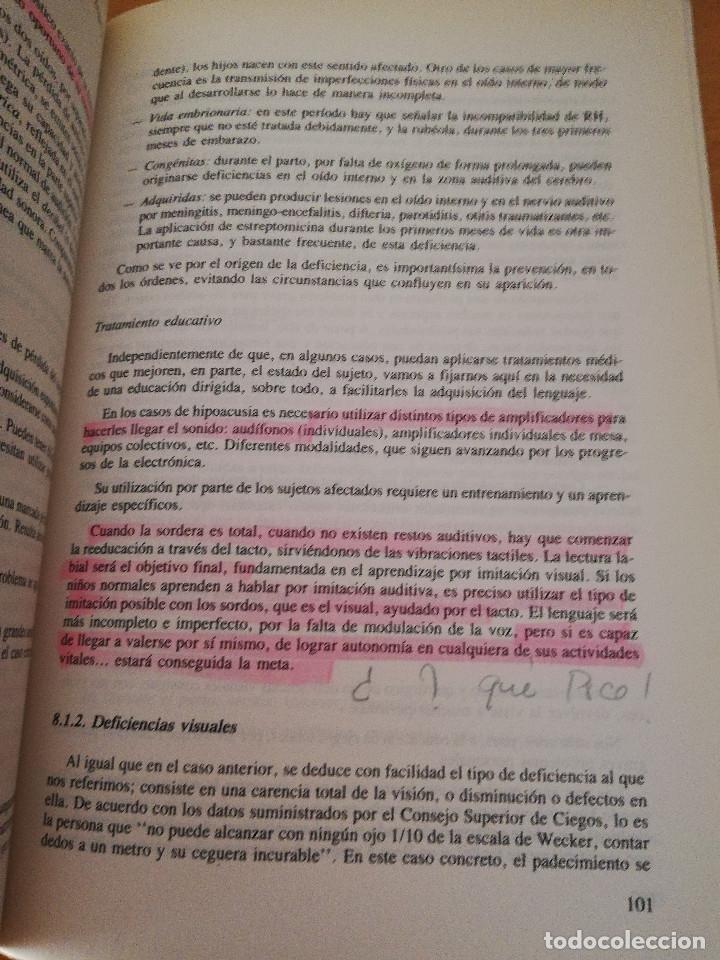 Libros de segunda mano: EDUCACIÓN ESPECIAL: HACIA LA INTEGRACIÓN (Mª ANTONIA CASANOVA) EDITORIAL ESCUELA ESPAÑOLA - Foto 4 - 174237215