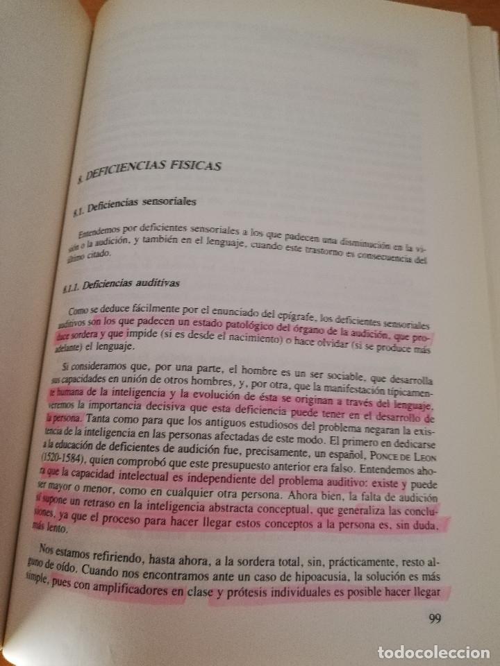 Libros de segunda mano: EDUCACIÓN ESPECIAL: HACIA LA INTEGRACIÓN (Mª ANTONIA CASANOVA) EDITORIAL ESCUELA ESPAÑOLA - Foto 5 - 174237215