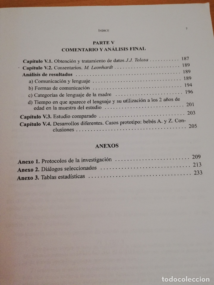 Libros de segunda mano: INICIACIÓN DEL LENGUAJE EN NIÑOS CIEGOS. UN ENFOQUE PREVENTIVO (VV. AA.) - Foto 5 - 174239259