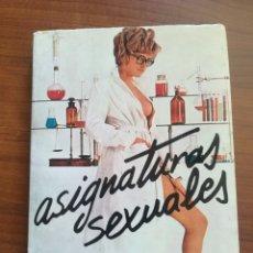 Libros de segunda mano: ASIGNATURAS SEXUALES. JOHN MONEY Y PATRICIA TICKET.. Lote 175929748