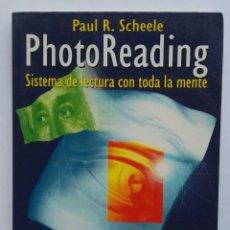 Libros de segunda mano: PHOTOREADING SISTEMA DE LECTURA CON TODA LA MENTE. Lote 175932918