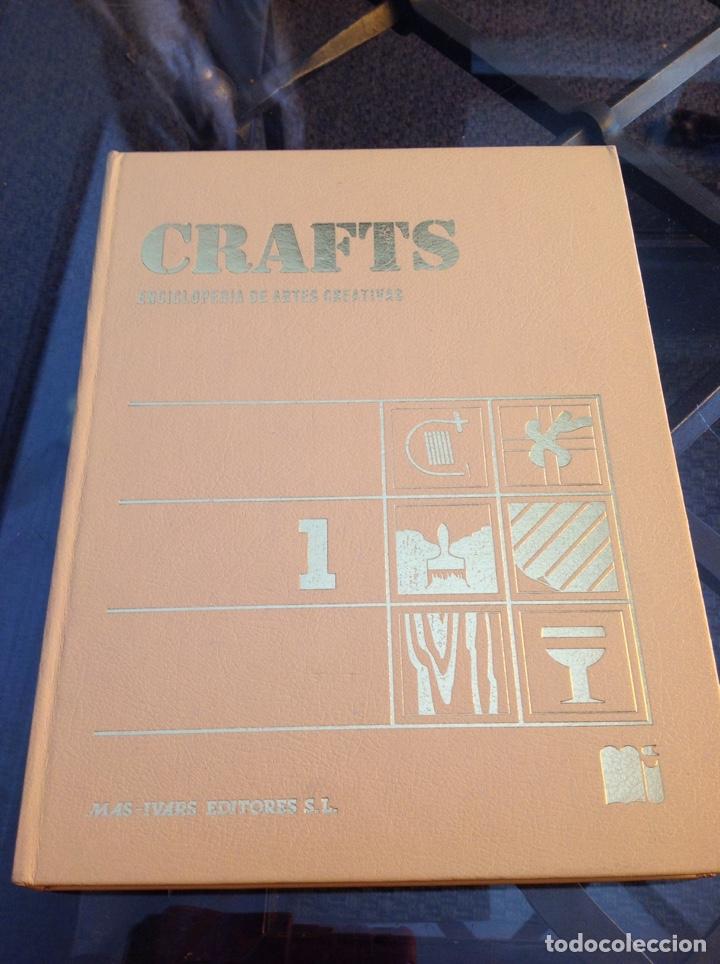ENCICLOPEDIA DE ARTES CREATIVAS. CRAFTS (Libros de Segunda Mano - Ciencias, Manuales y Oficios - Pedagogía)