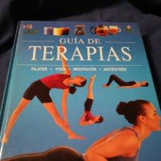Libros de segunda mano: GUÍA DE TERAPIAS.. Lote 197050525