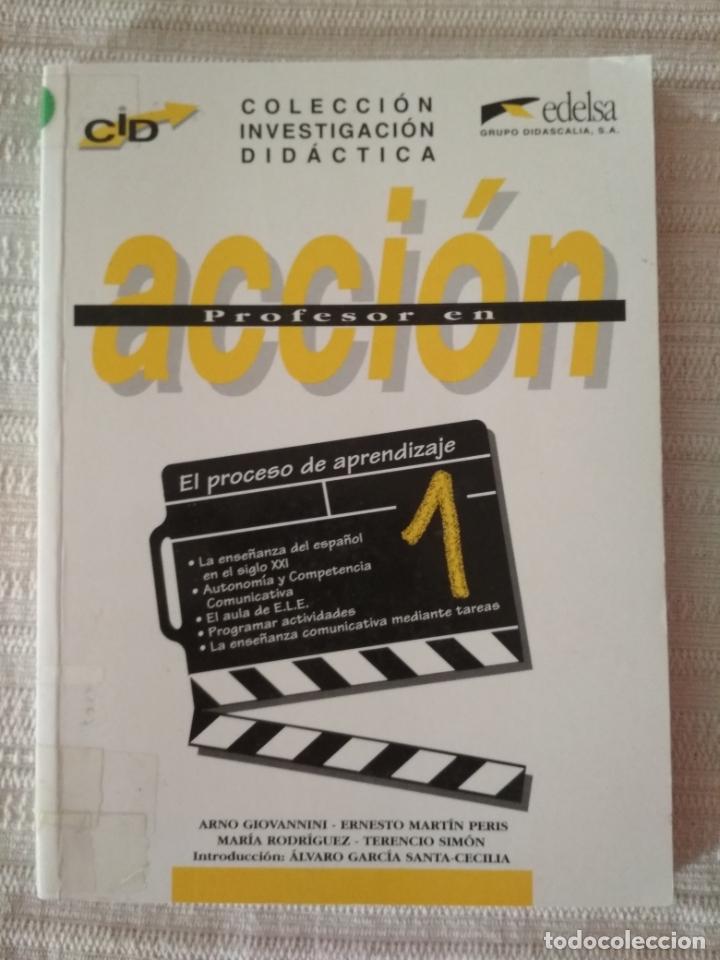 Libros de segunda mano: PROFESOR EN ACCIÓN 3 VOL. COLECCIÓN INVESTIGACIÓN DIDÁCTICA - Foto 3 - 178097597